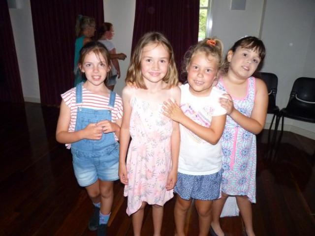 Kids dancing at disco
