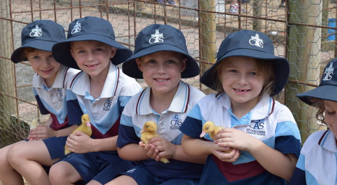 Kindergarten Visit to Petting Farm
