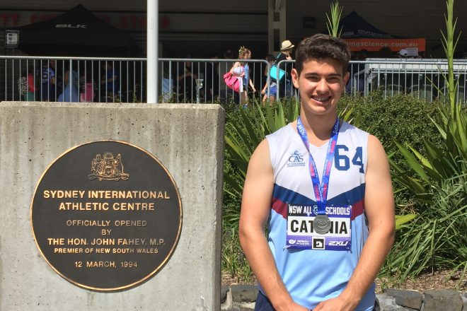 NSW All Schools Athletics Championships Success