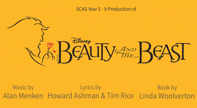 SCAS Production of Disney's Beauty and the Beast, 25, 26, 27, 28 October